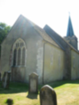 Jane Austen's Home at Steventon, the Church