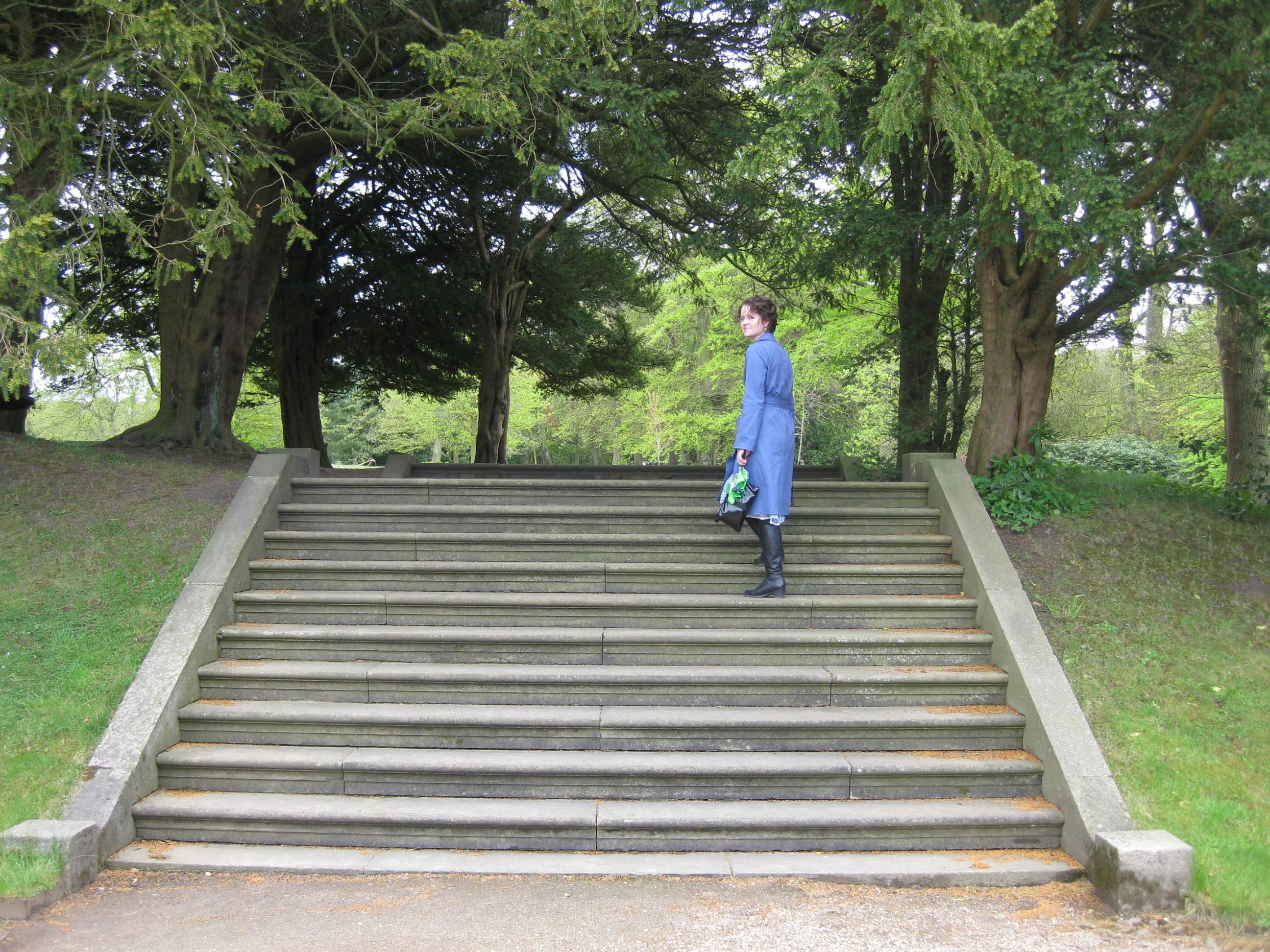 The Pemberley steps