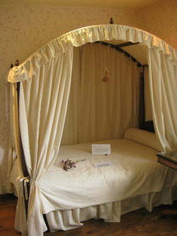 A reproduction of Jane's bed