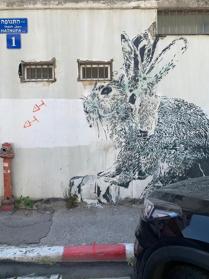 הקסם האורבני, סיור בגלריות קרית המלאכה, תל-אביב