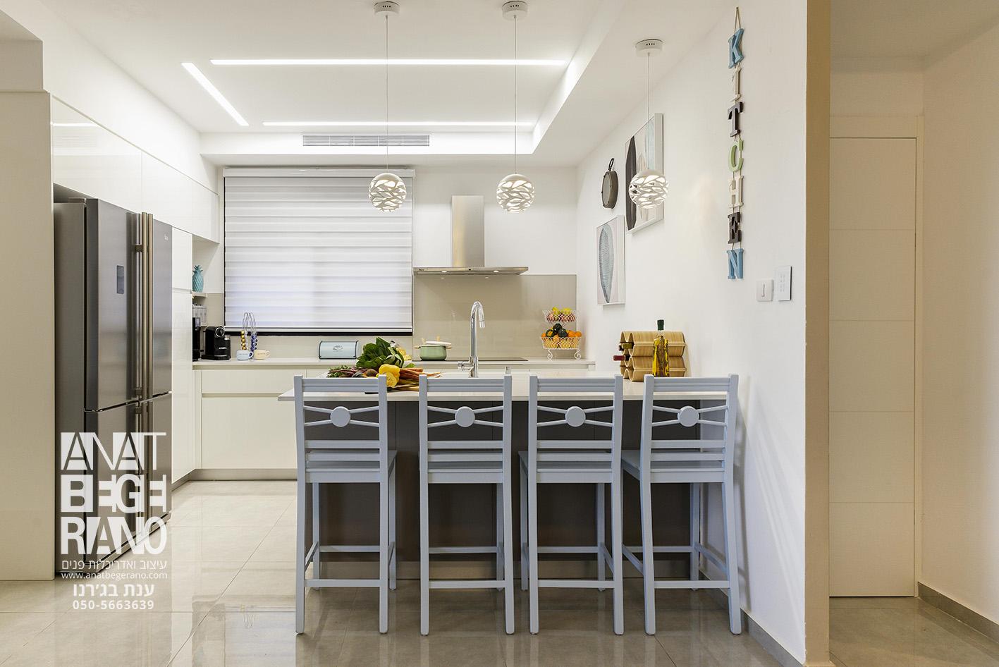 עיצוב בר במטבח
