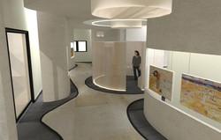 הדמייה חלל תערוכה