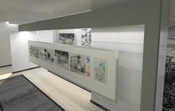 חלל תערוכה אמנות תל אביבית עכשוית