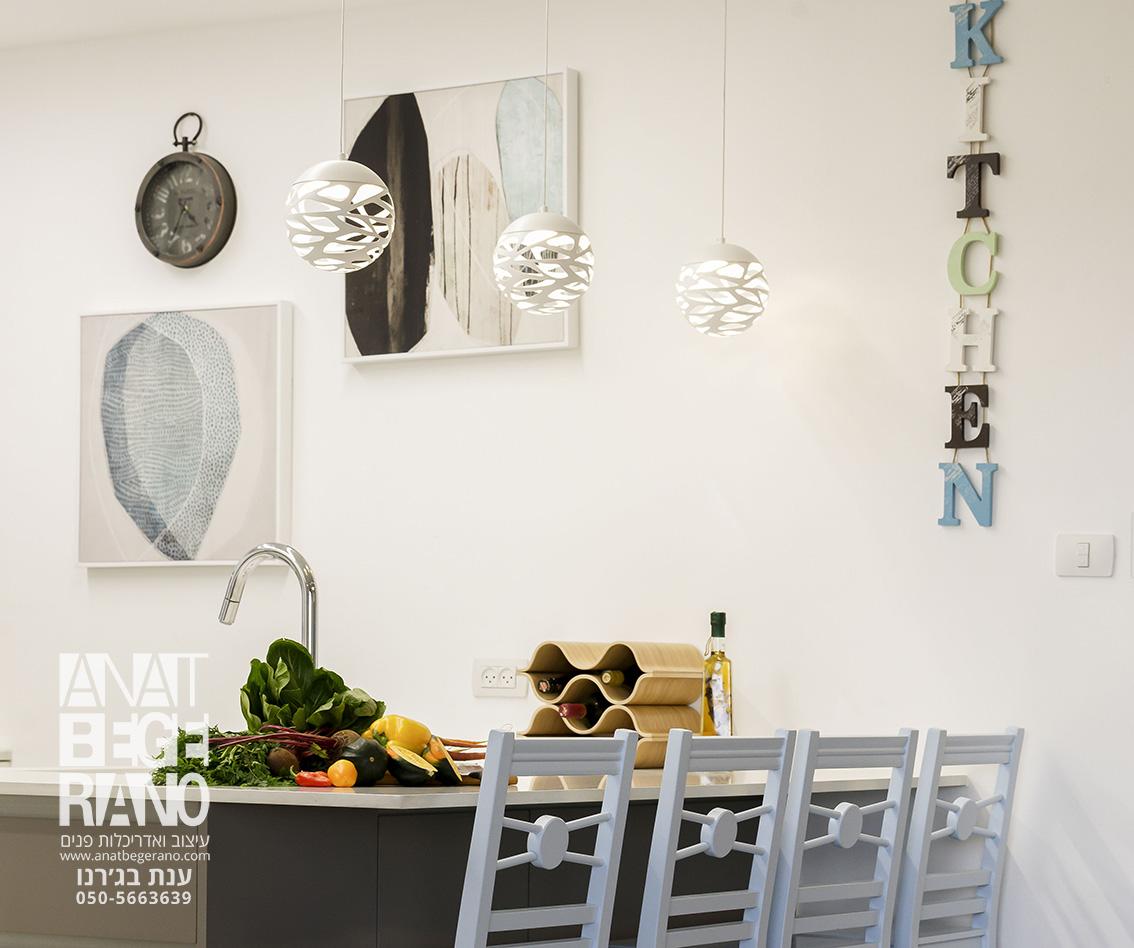 עיצוב קיר במטבח