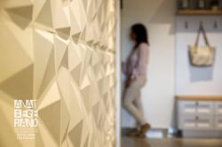 עיצוב קיר אומנות קיר מודרני גאומטרי