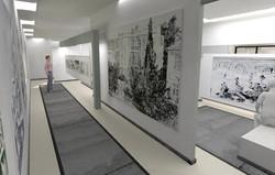 הדמיה חלל תערוכה אמנות עכשיות