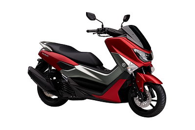 Moto_Scooter_NMAX_ABS_2018_3-4_Matt_Red.