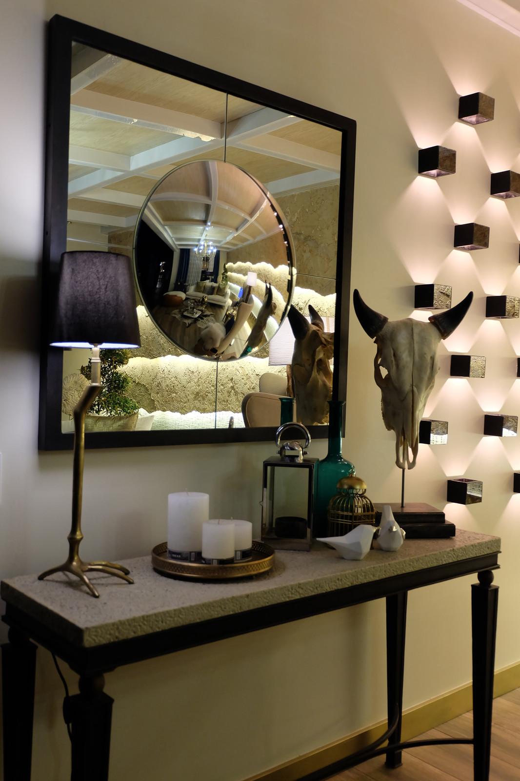 Rustic Luxe Living Room