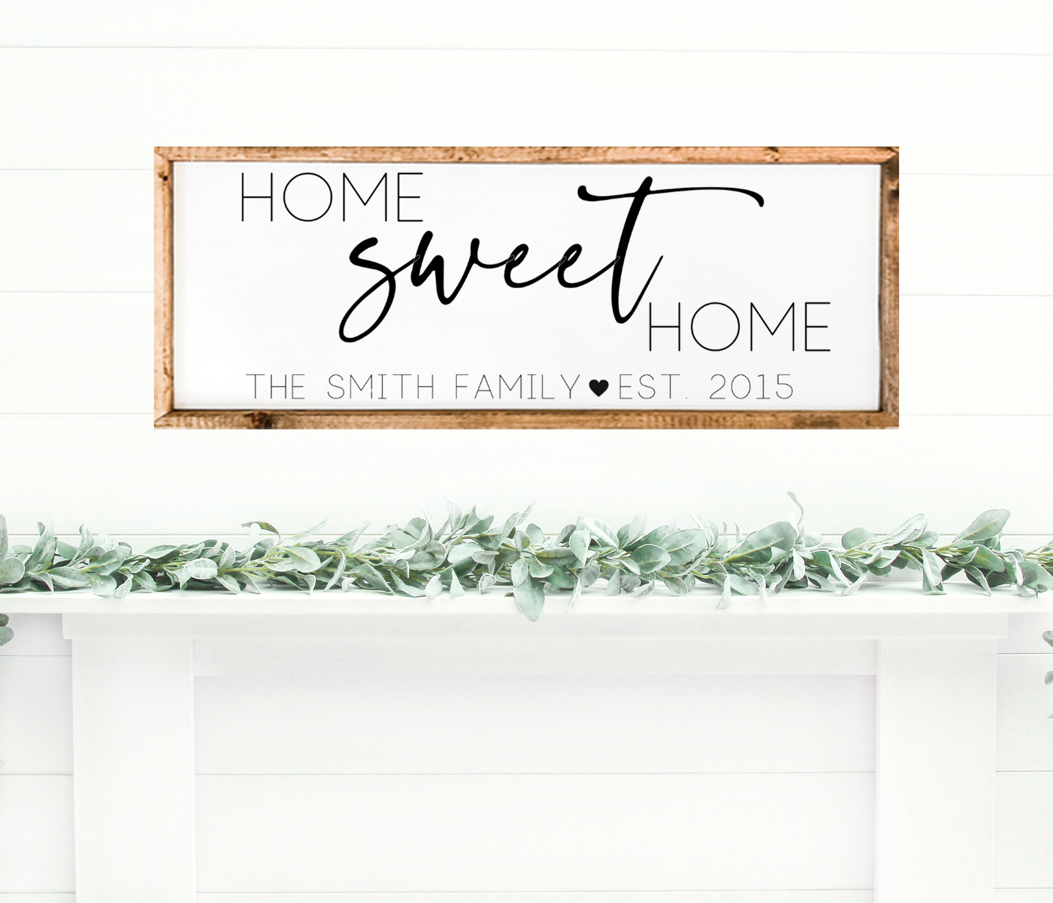 Home Sweet Home Farmhouse Home Decor