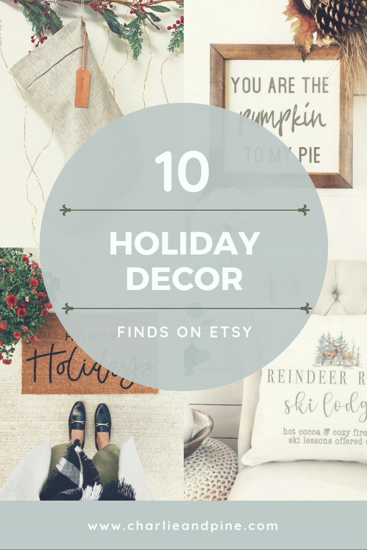 10 of the Best Holiday Decor Finds on Etsy