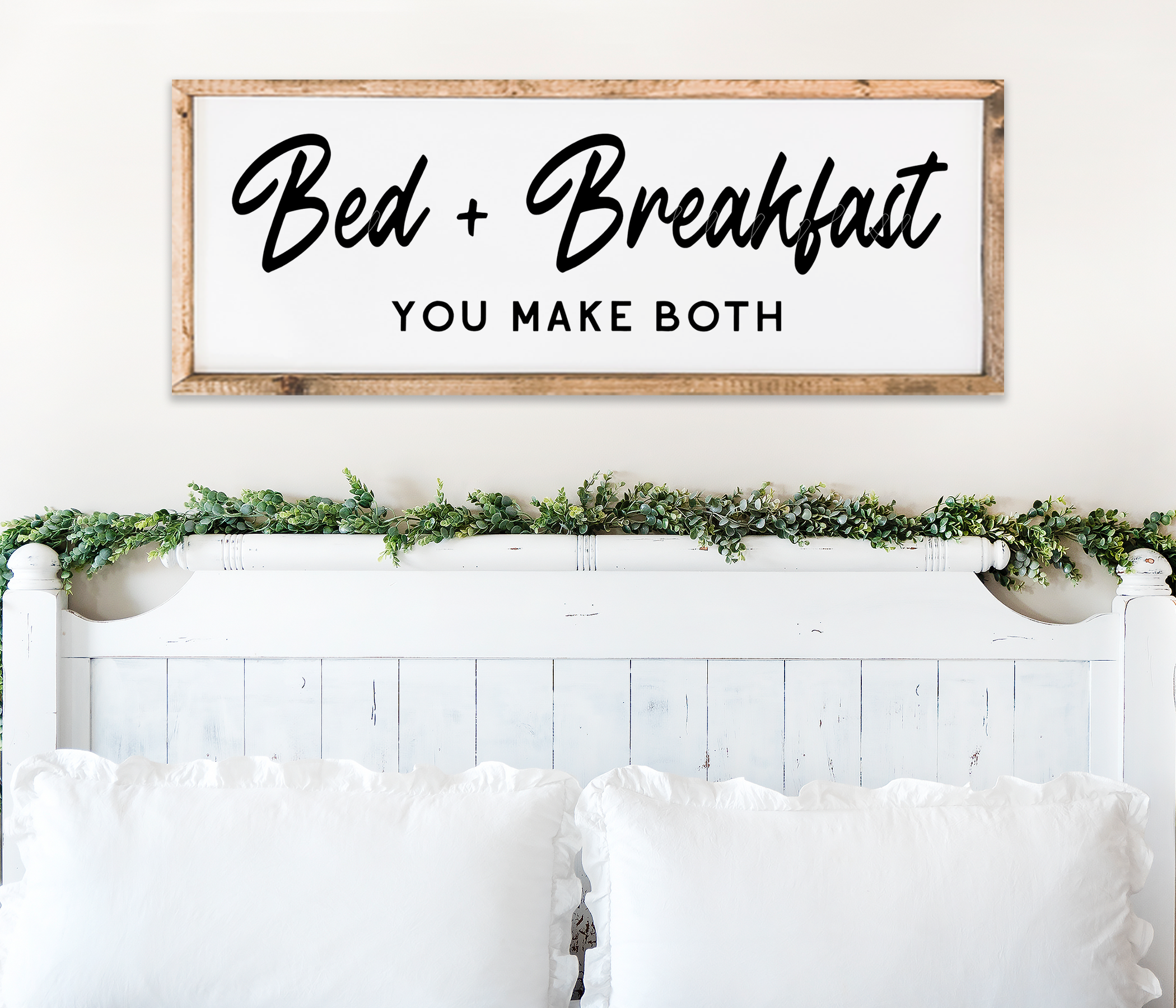 Bed and Breakfast Farmhouse Bedroom Wall