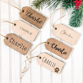 Personalized Stocking Tags Christmas Hom