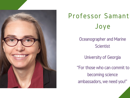 Life Sciences Awardee 2020: Professor Samantha 'Mandy' Joye