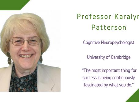 Life Sciences Awardee 2020: Professor Karalyn Patterson