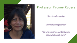 Maths and Computing Awardee 2020: Professor Yvonne Rogers