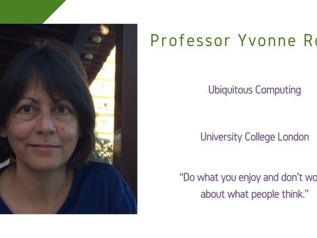 Maths and Computing Awardee 2020: Professor Yvonne Rogers