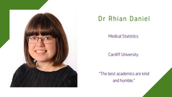 Maths and Computing Awardee 2020: Dr Rhian Daniel