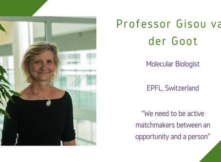Life Sciences Awardee 2020: Professor Gisou van der Goot
