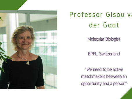 Life Sciences Awardee 2020: Professor Gisou van der Goot