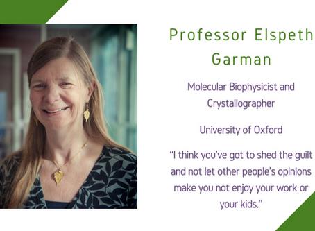 Life Sciences Awardee 2020: Professor Elspeth Garman