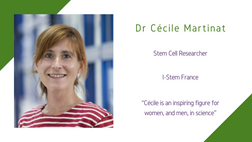 Life Sciences Awardee 2020: Dr Cécile Martinat