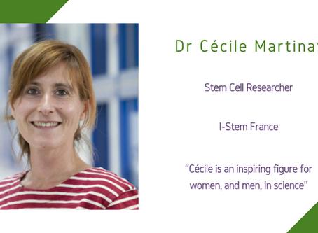 Life Sciences Awardee 2020: Dr Cécile Martinat