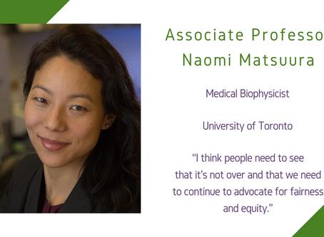 Life Sciences Awardee 2020: Associate Professor Naomi Matsuura