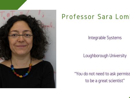 Maths and Computing Awardee 2020: Professor Sara Lombardo