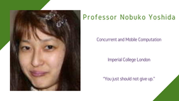 Maths and Computing Awardee 2020: Professor Nobuko Yoshida