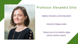Maths and Computing Awardee 2020: Professor Alexandra Silva