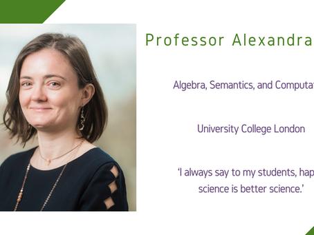 Maths and Computing Awardee 2020: Professor Alexandra Silva