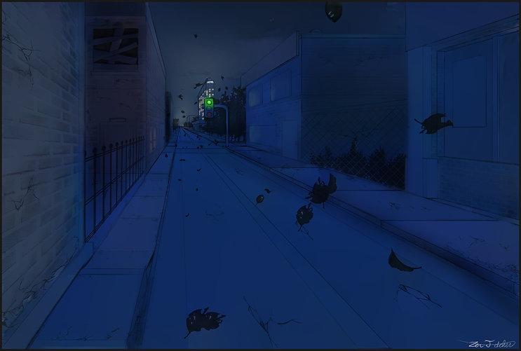 Night City Backdrop.