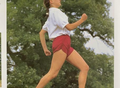 走る時も(走る時こそ)、自分に意識を持って。