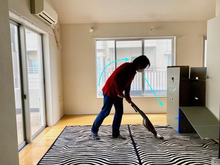 掃除する時も、自分に意識を向けて。