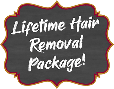 Lifetime Hair Removal Package