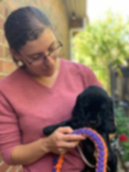 Jacqui with puppy.JPG