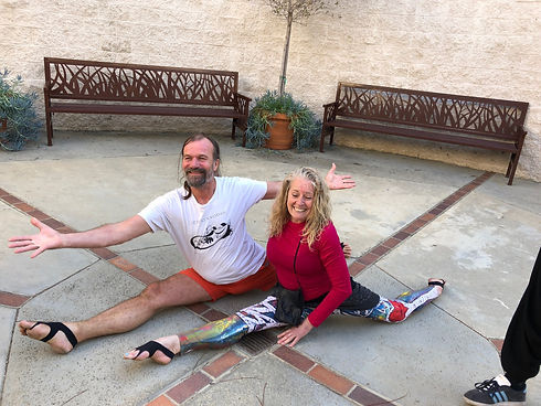 Barefoot Sue and Wim Hof