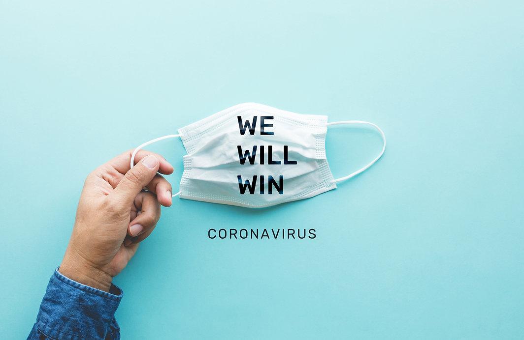 WE WILL WIN on coronavirus,covid-19 outb