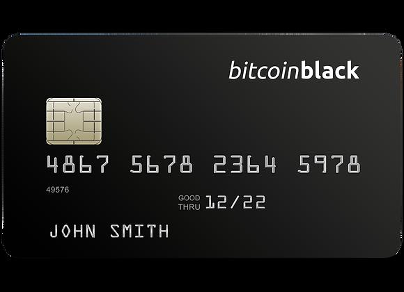 BitcoinBlack Initiation Fee