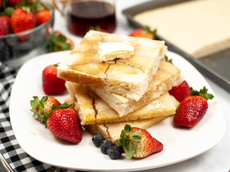 Easy Sheet Pan Pancakes Recipe