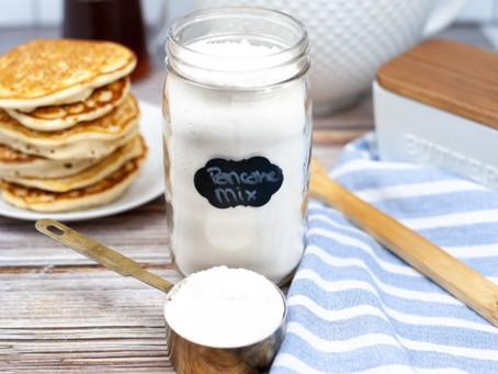 How to Make Homemade Pancake Mix
