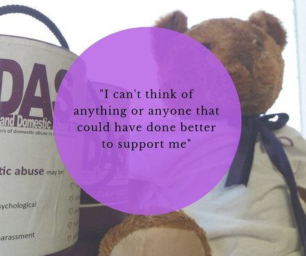 """I can't think of anything or anyone that could have done better to support me. Excellent service.  It's so hard to get help these days, so thankful NDAS exists as a charity."""