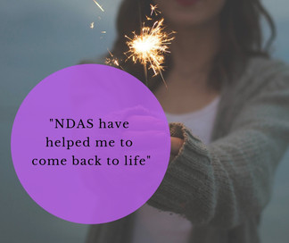 """NDAS was excellent. They have helped me 'come back to life'. """