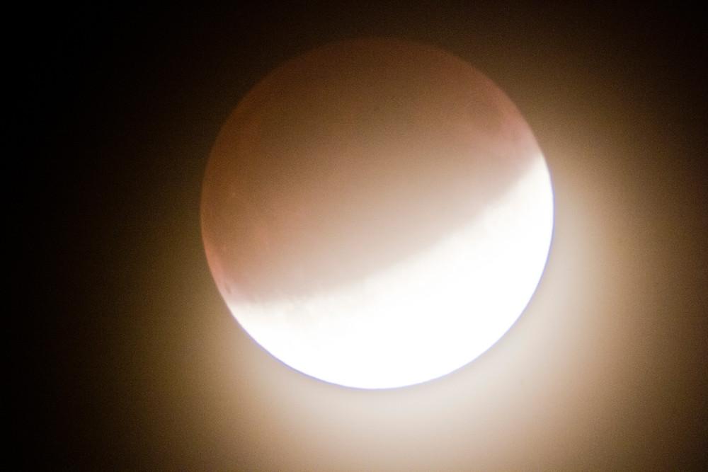 Foto de la Luna el 16 de Julio del 2019 desde Majadahonda, Madrid