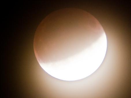 Calculando el tamaño de la Luna con una foto