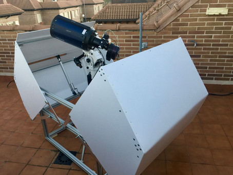 Design and assembly of a mini terrace observatory