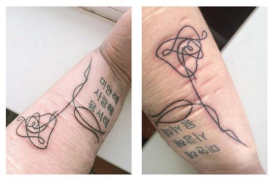 Tatuagem Do Bts: ARMY Faz Tatuagem Em Homenagem Ao BTS