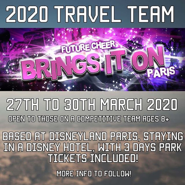 2020 Travel Team Reveal _We cannot wait