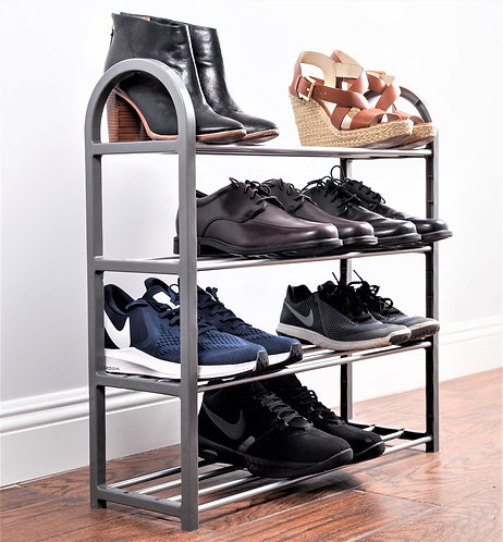 Real Home Innovations Compact 4-Tier Accessory Rack,