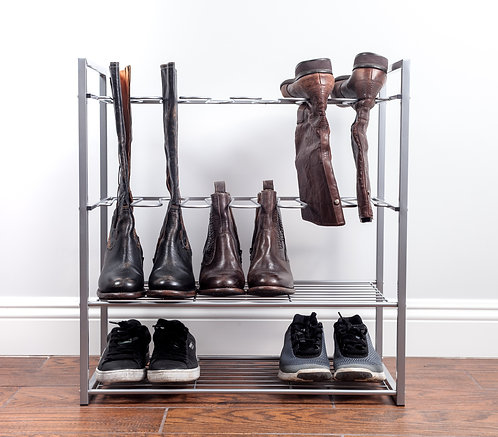 Real Home Innovations Stackable Boot and Shoe Rack
